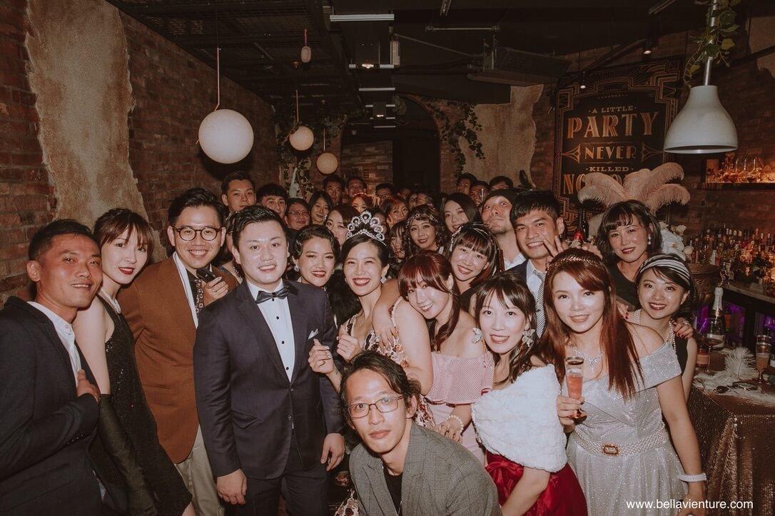信義區 餐酒館 She Design tapas soju bar 包場活動 大亨小傳 Gatsby style 生日趴