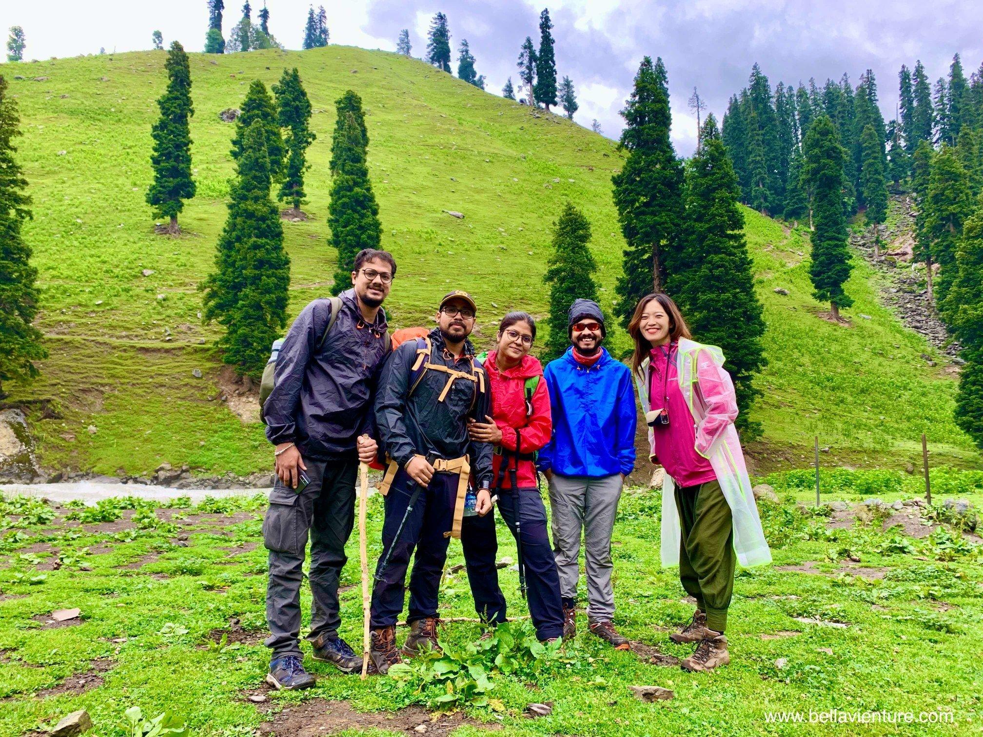 印度 India  喀什米爾 Kashmir  北北印 North India 八天七夜健行 Sonamarg  團員 印度朋友