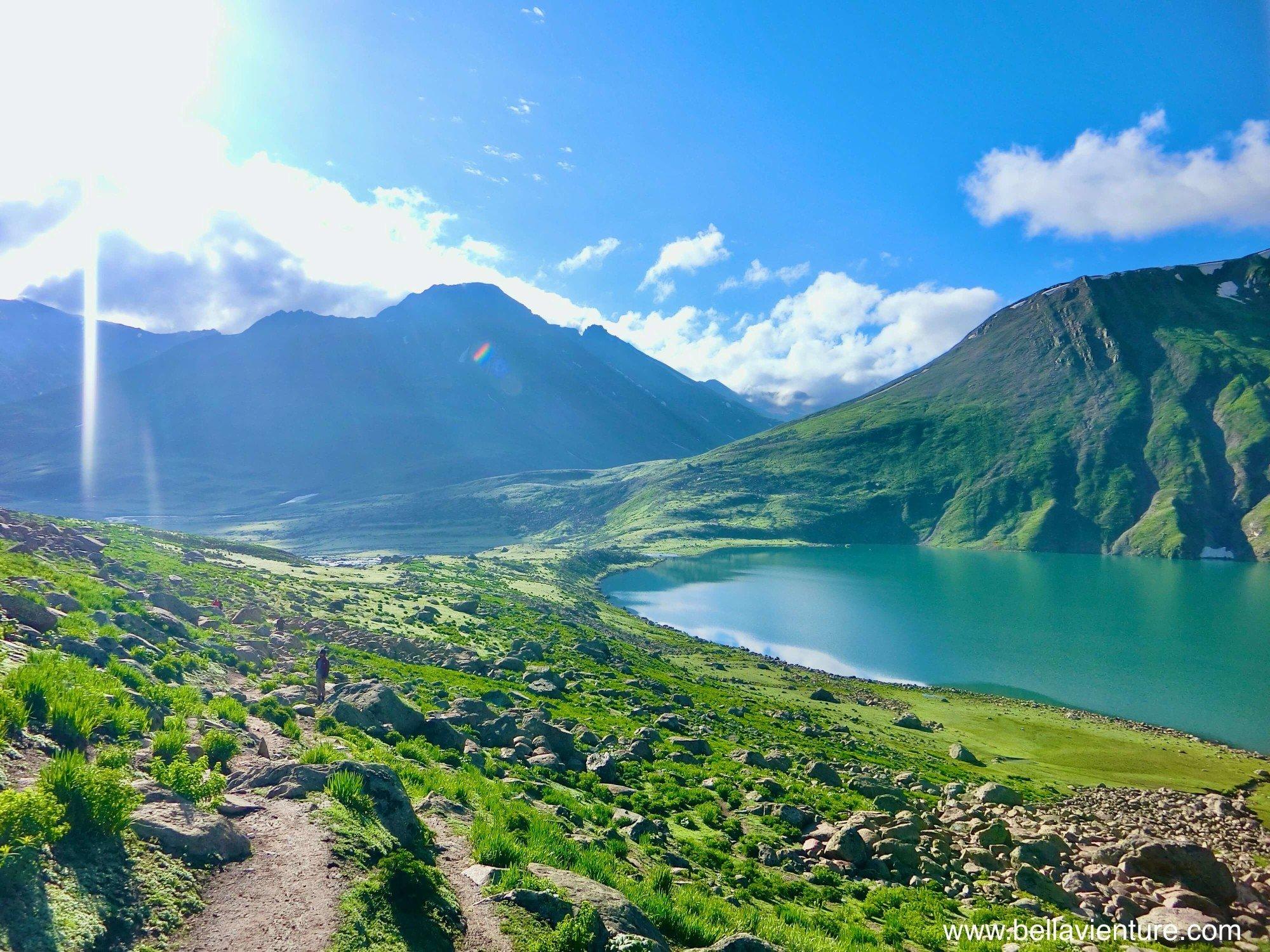 印度India 北北印North Inida  喀什米爾Kashmir 健行Trekking 湖泊