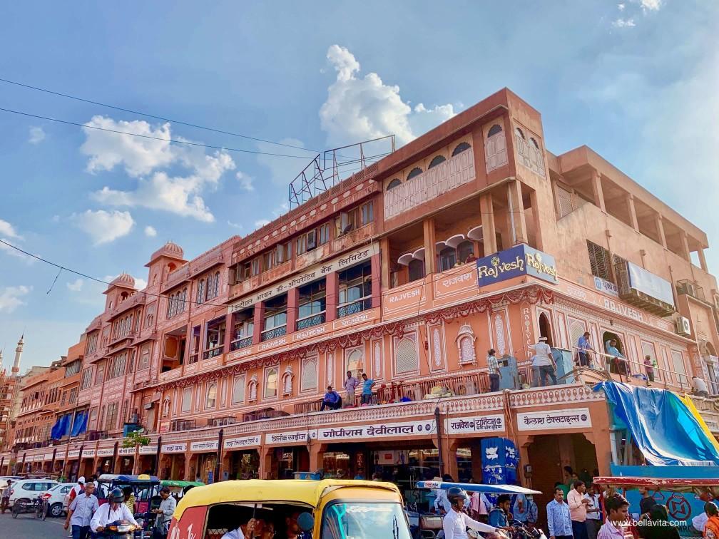 印度 india 齋浦爾 jaipur  pink city 街景 street view
