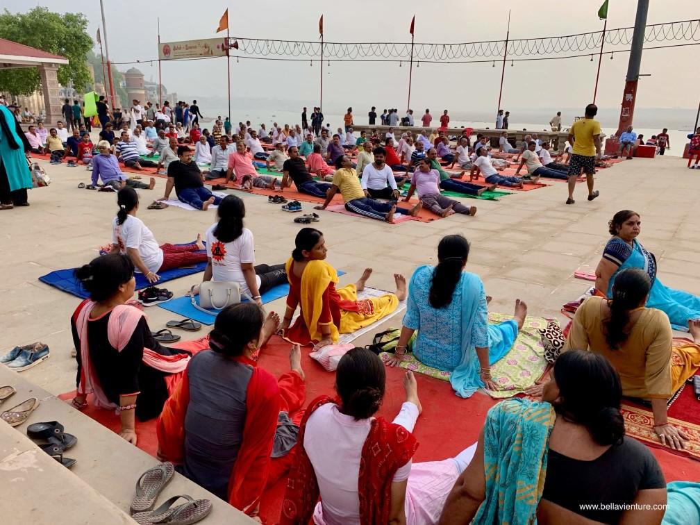 印度 india 瓦拉納西  varanasi 恆河 ganga 大笑瑜伽 laughter yoga