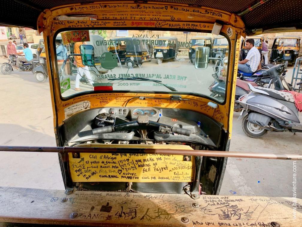 印度 india 賈莎梅爾Jaisalmer 金色城市golden city Tuktuk
