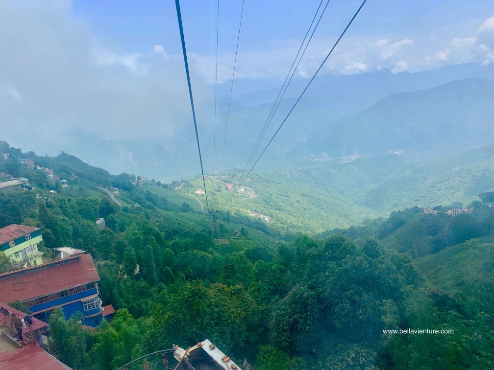 印度 大吉嶺 Darjeeling Rangeet Valley Passenger Ropeway