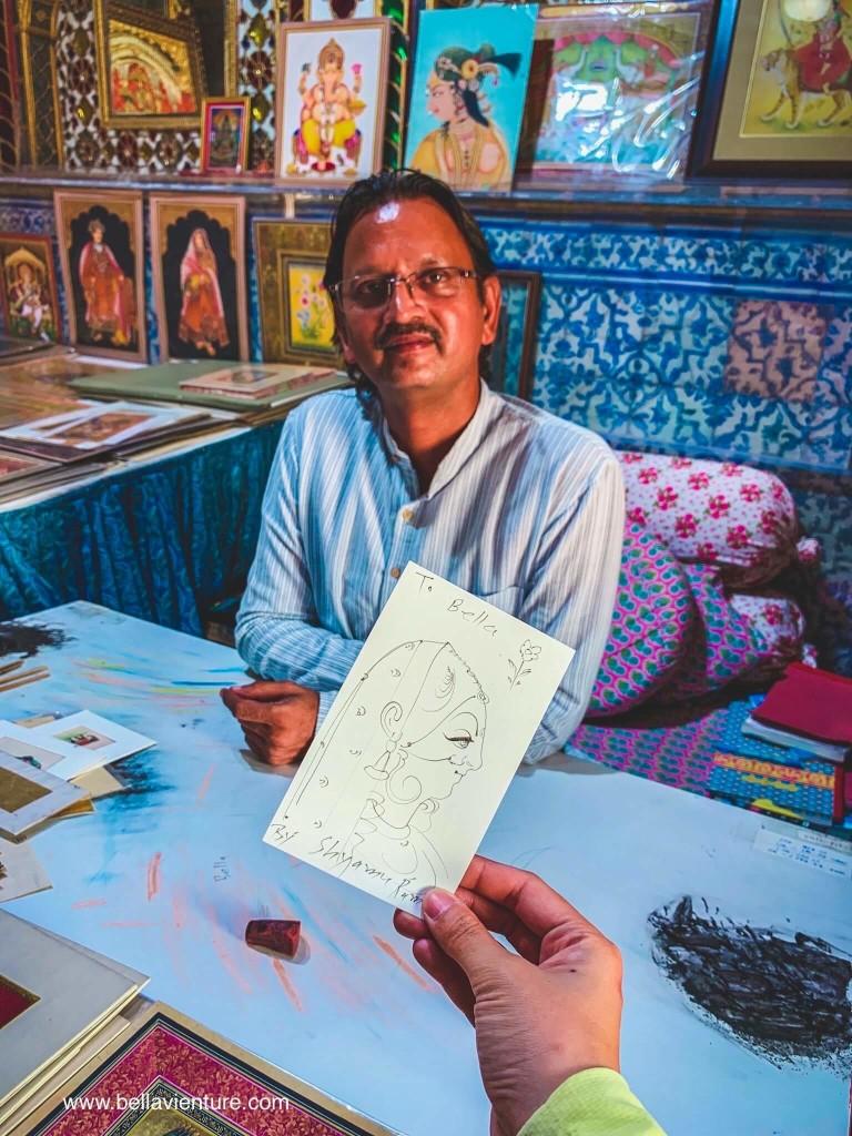 印度 india  齋浦爾 jaipur 城市宮殿 city palace 王公御用畫師