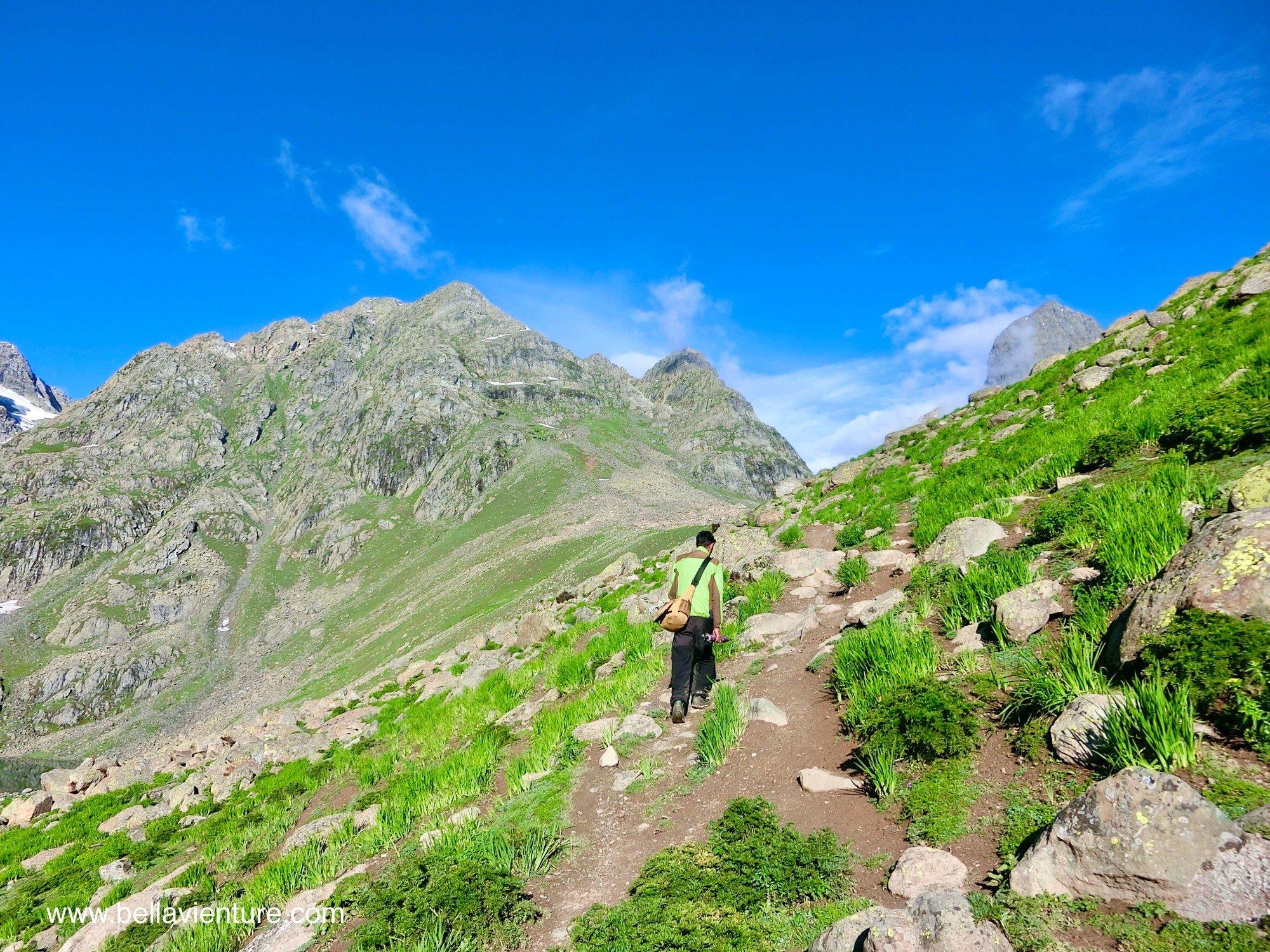 印度India 北北印North Inida  喀什米爾Kashmir 健行Trekking 啟程