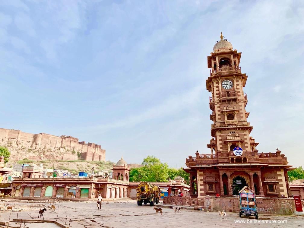 焦特普爾 Jodhpur 藍色城市 Blue city 焦特普爾鐘樓 Ghanta Ghar