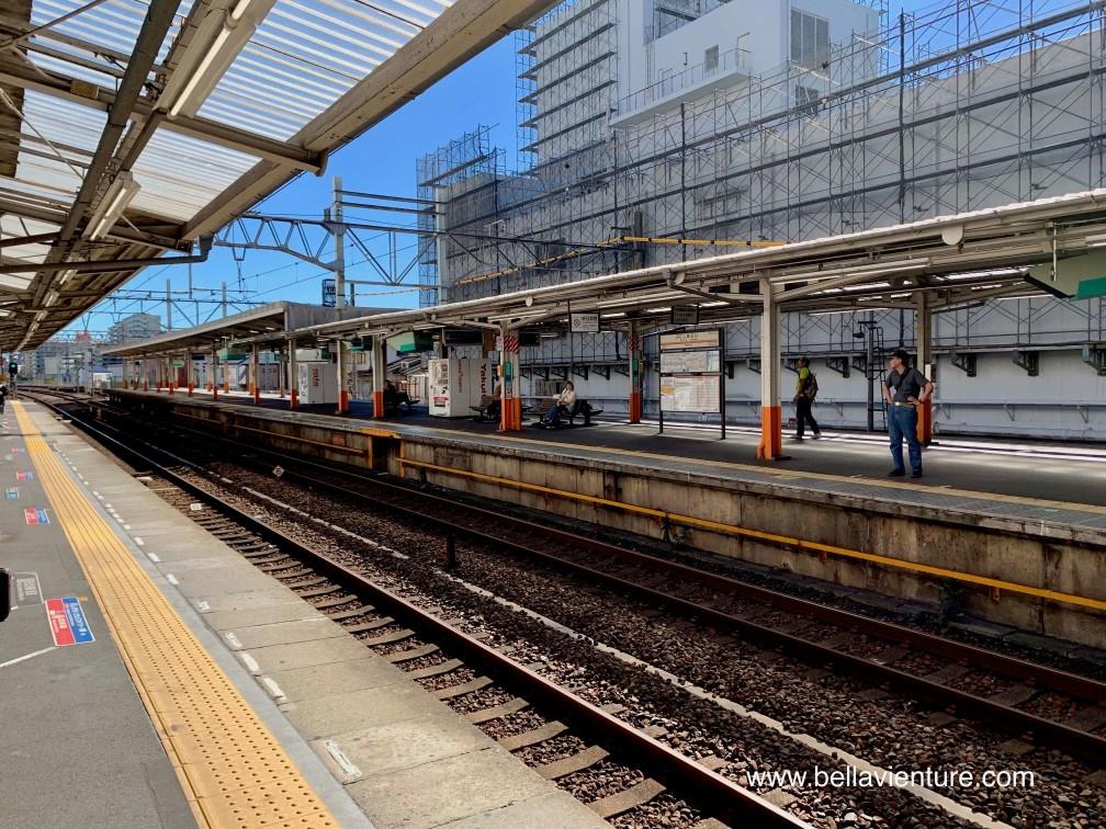 日本電車月台