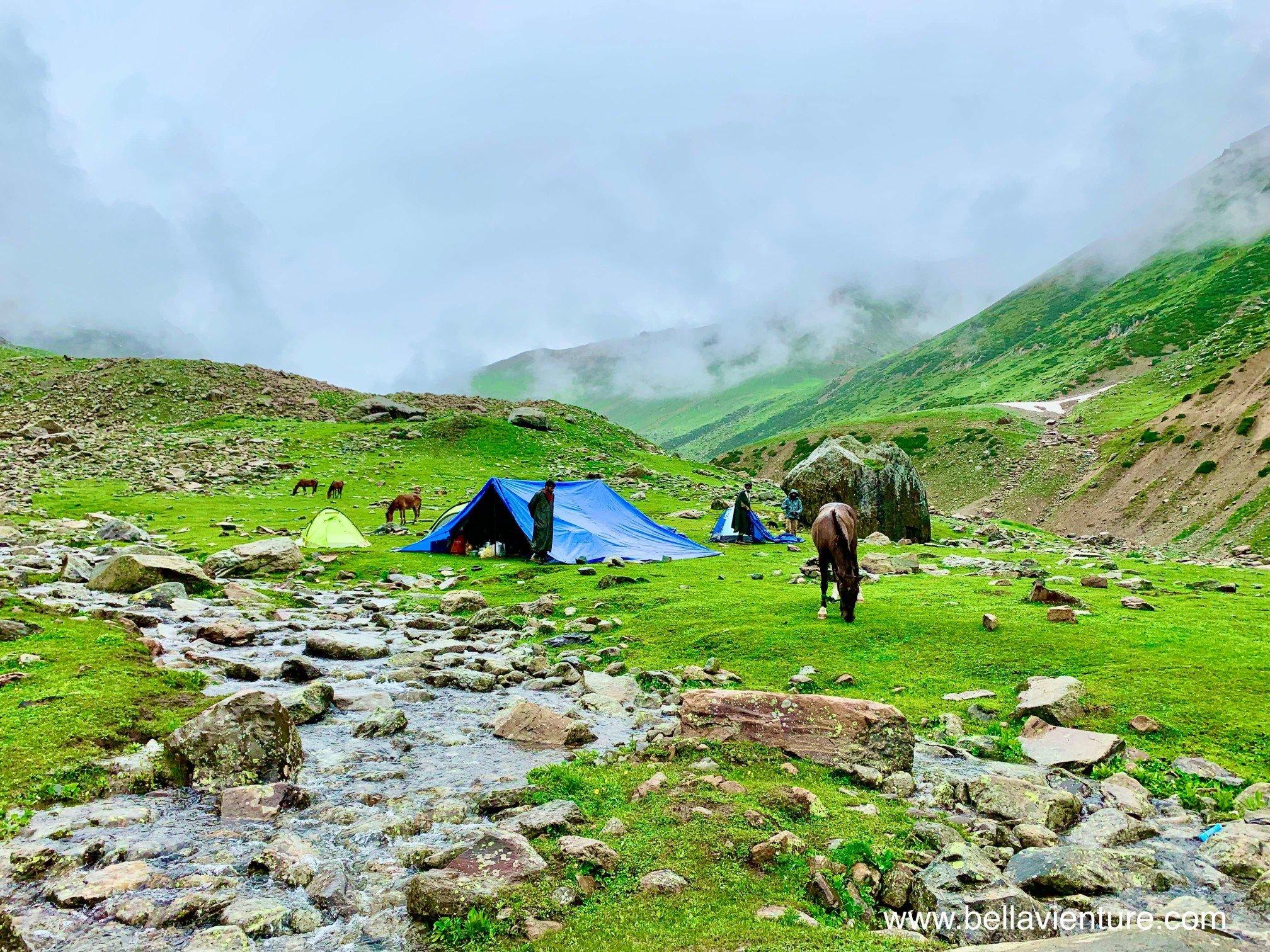 印度 India  喀什米爾 Kashmir  北北印 North India 八天七夜健行 大自然 美景 帳篷