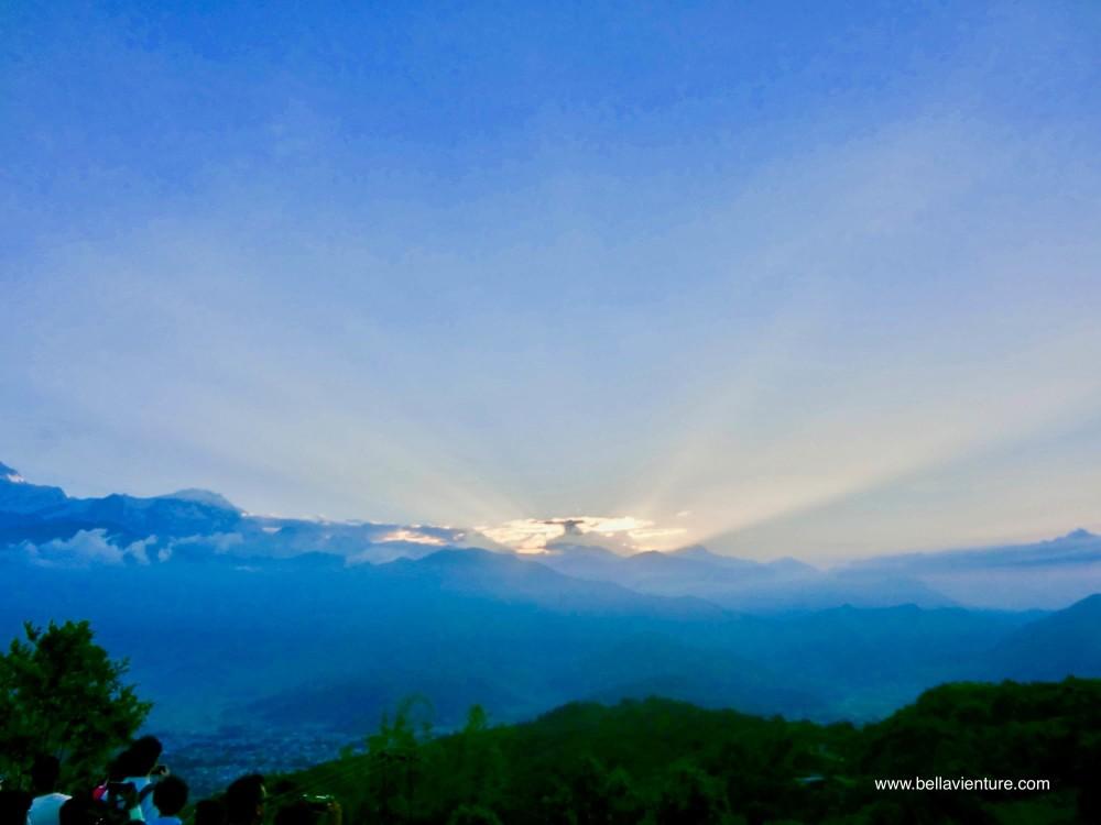 【印度】21天秒決定到印度兩個月!瓦拉納西(一)Day15 波卡拉的日出+重回印度的混雜