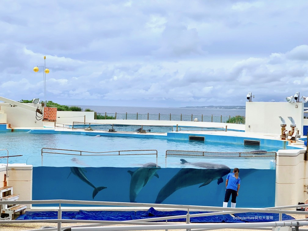 オキちゃん劇場 海豚主秀 沖繩 美麗海水族館