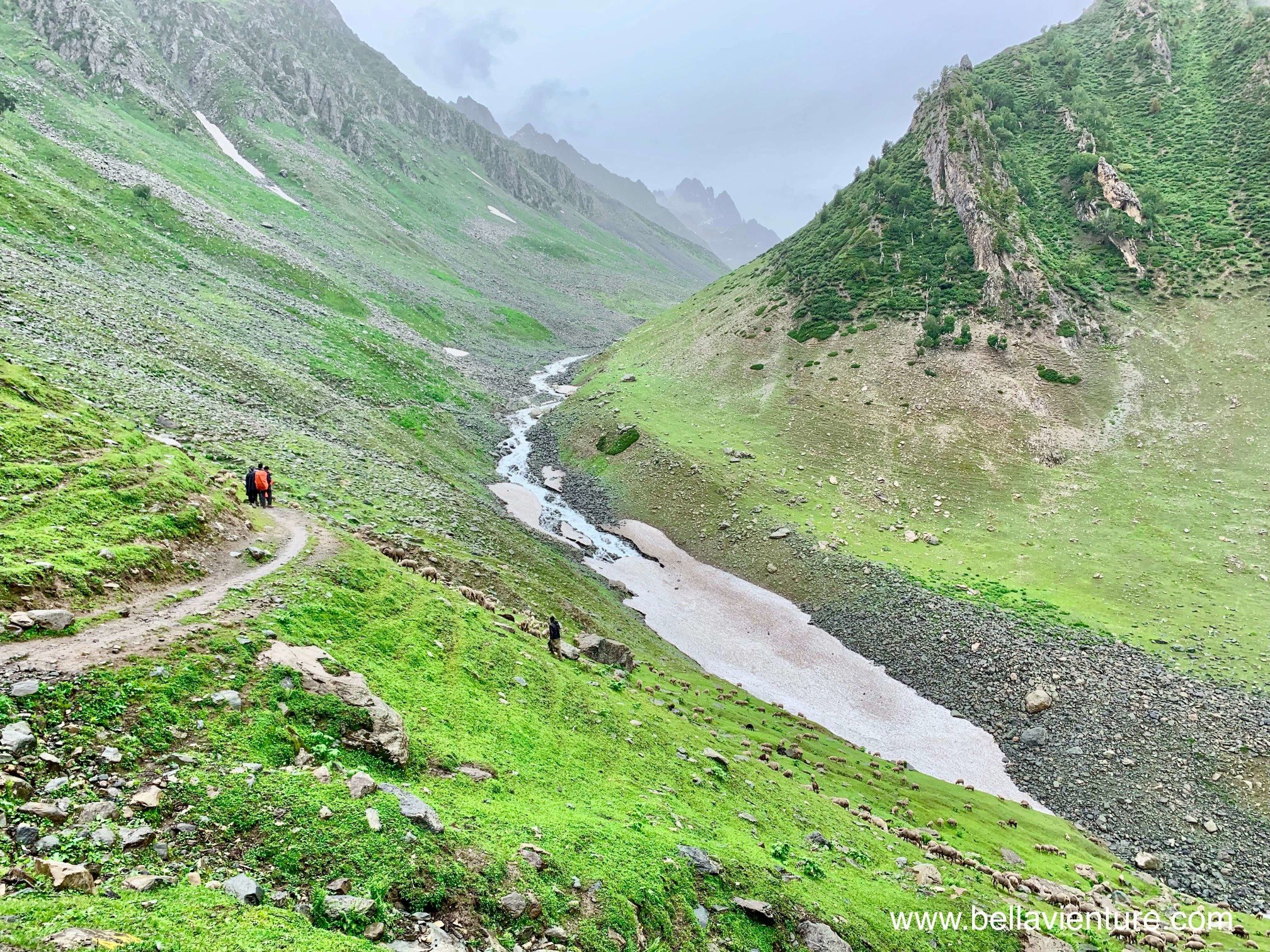 印度 India  喀什米爾 Kashmir  北北印 North India 八天七夜健行 大自然 冰河