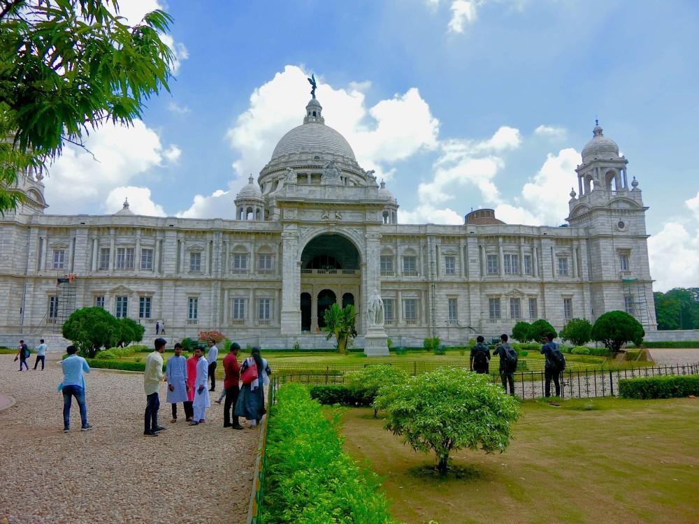 印度 加爾各答 維多利亞紀念堂 正門