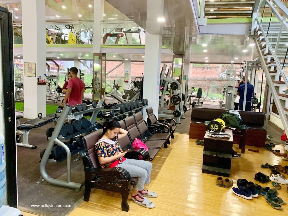 尼泊爾 加德滿都 健身房 hardik fitness club 休息區