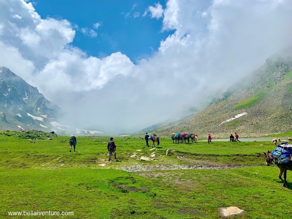印度 India 北北印  North India 喀什米爾 Kashmir 大湖健行 trekking Kashmir Great Lakes Trek 大自然