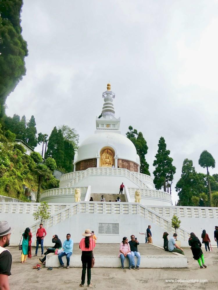 peace pagoda 印度 大吉嶺 妙法寺和平塔