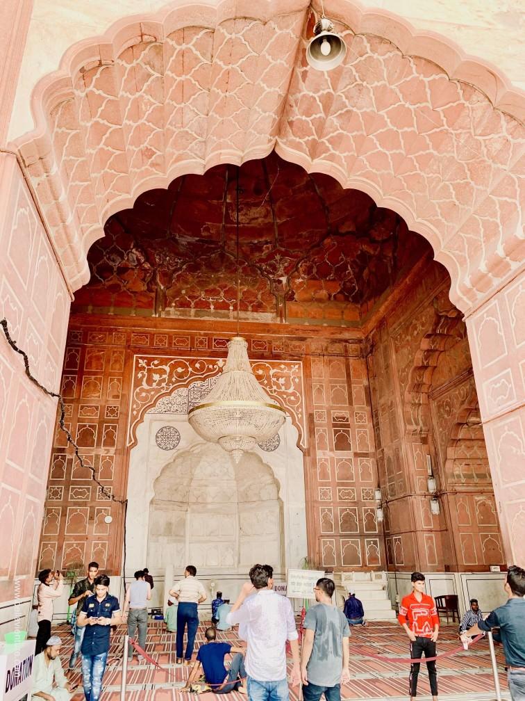 印度 India 新德里 New Delhi 德里 Delhi 迦瑪清真寺 Jama Masjid