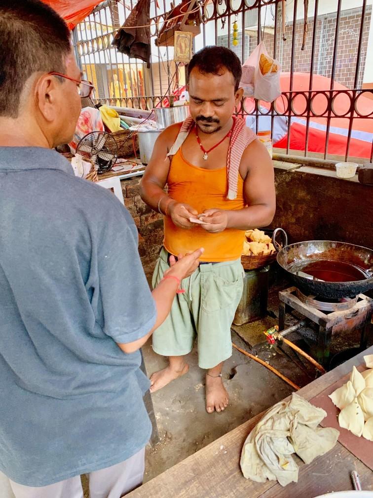 india samosa chai 印度 加爾各答 炸嘎哩餃 印度奶茶