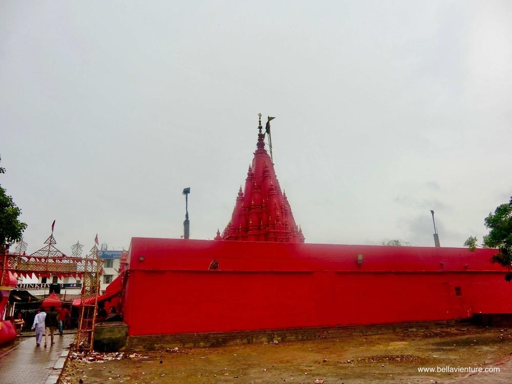 印度 India 瓦拉納西 Varanasi 恆河 Ganga 杜兒葛寺廟 Durga temple