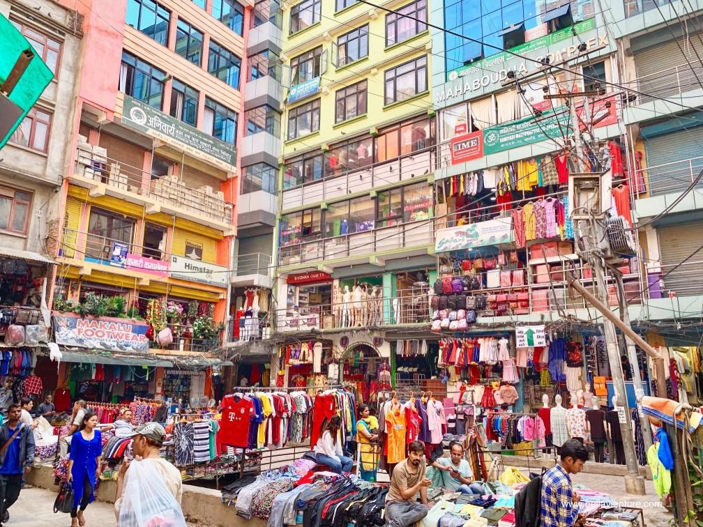 尼泊爾 加德滿都 Tamel area 塔美爾區 街道