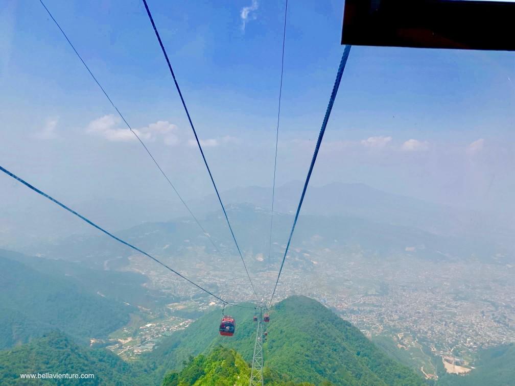 尼泊爾 加德滿都 Chandragiri Cable Car 纜車 風景