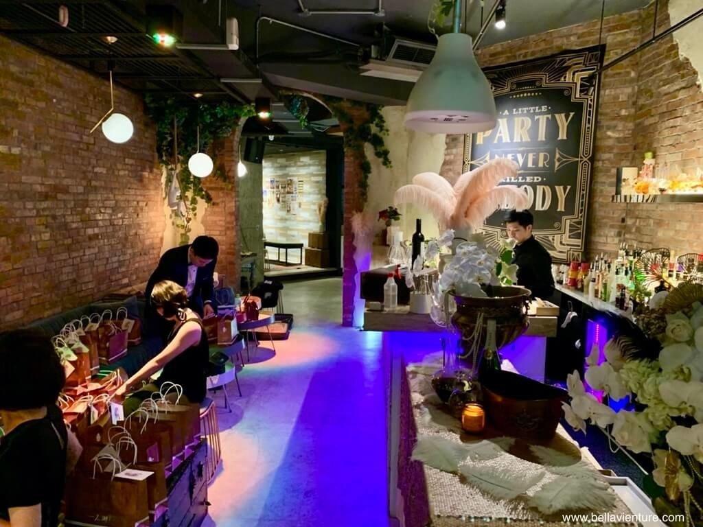 信義區 餐酒館 She Design tapas soju bar 包場活動 大亨小傳 Gatsby style