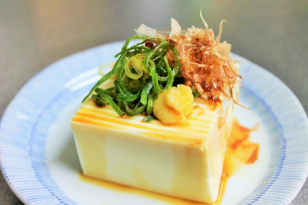 絹ごし豆腐料理