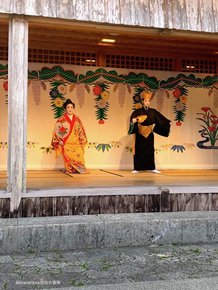 沖繩.首里城.踊り