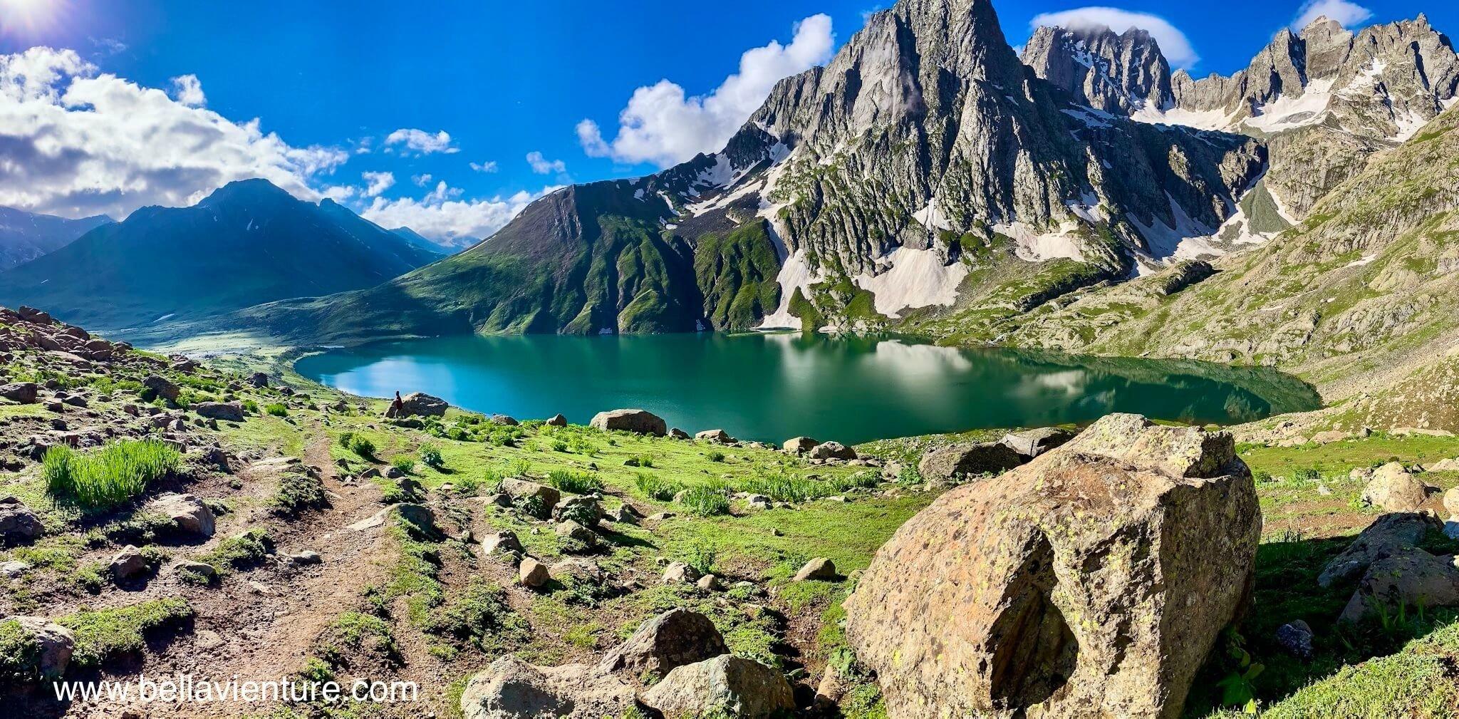 印度India 北北印 North India 喀什米爾 Kashmir 大湖健行 trekking 聖湖 美景