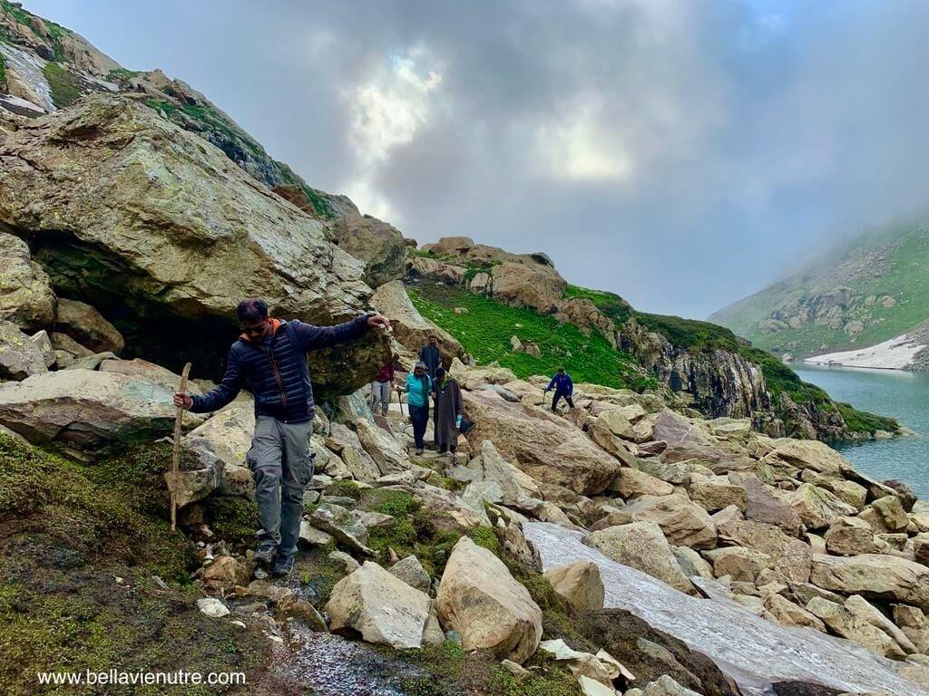 印度 India 北北印  North India 喀什米爾 Kashmir 大湖健行 trekking Kashmir Great Lakes Trek 跋山涉水