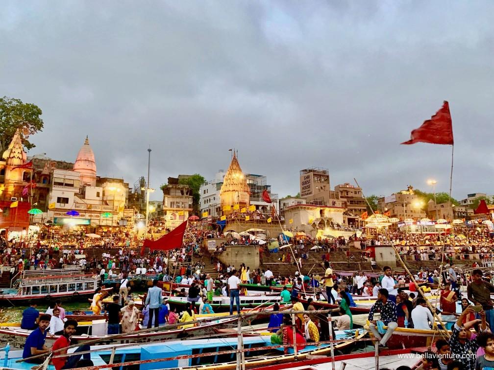 印度 india  瓦拉納西 varanasi 恆河 ganga 夜祭 aarti