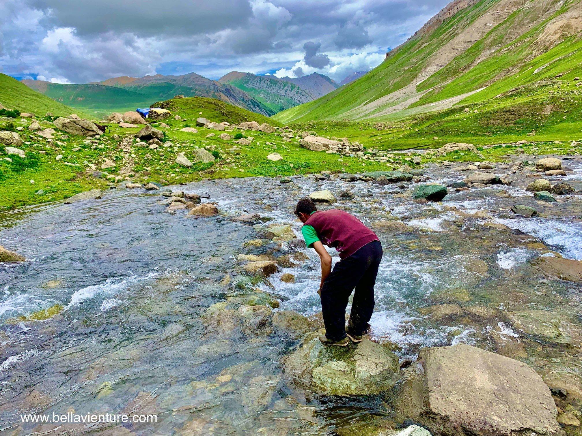 印度 India 北北印 North India 喀什米爾  Kashmir 八天七夜 健行 渡河 超冰融冰水