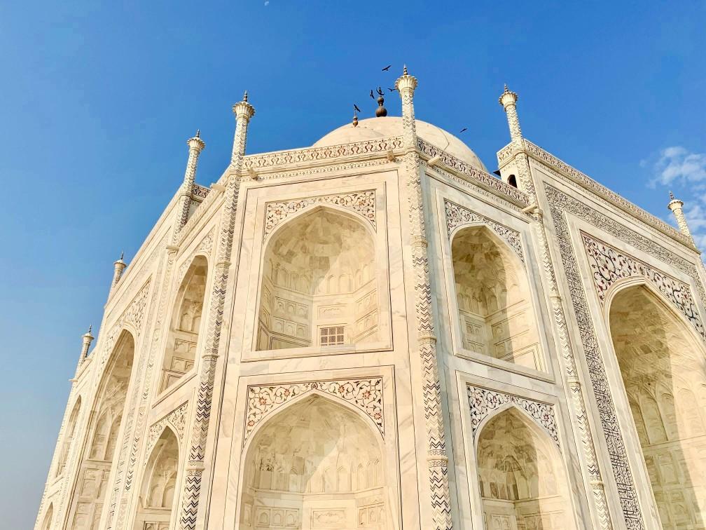 印度india  阿格拉 Agra 泰姬瑪哈陵 Taj Mahal 日出sunrise