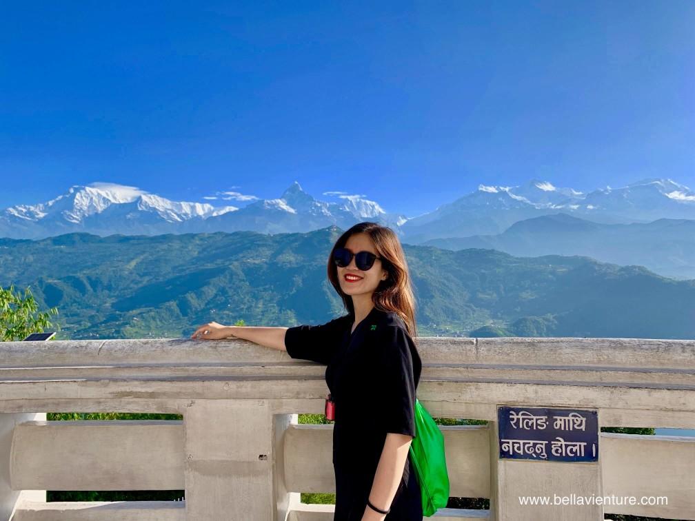 尼泊爾 nepal  妙法寺 和平塔 波卡拉 pokhara 魚尾峰