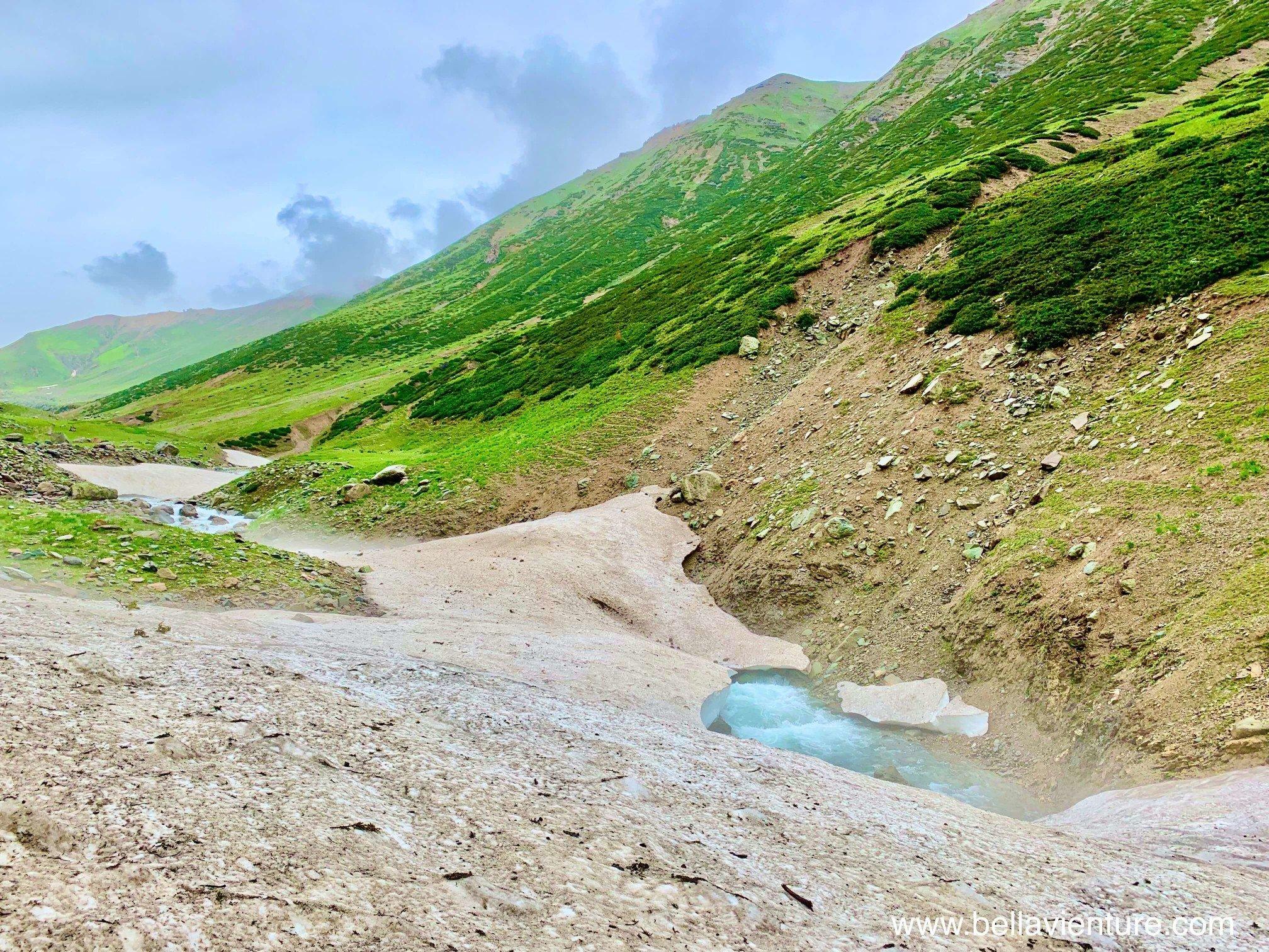 印度 India  喀什米爾 Kashmir  北北印 North India 八天七夜健行 融冰 冰河