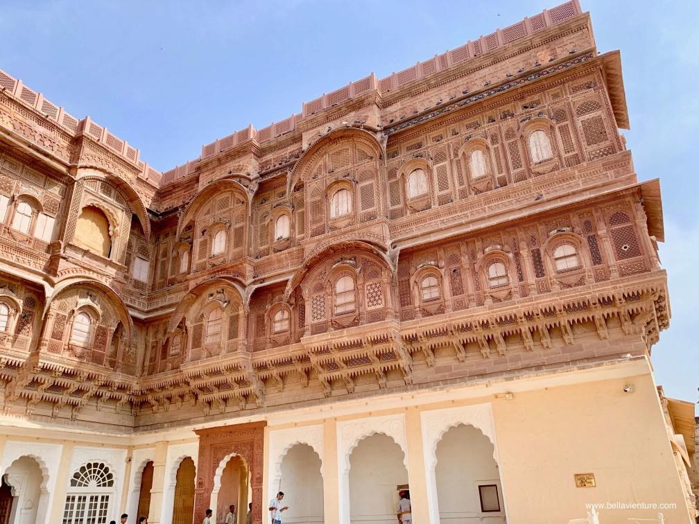 焦特普爾 Jodhpur 藍色城市 Blue city 梅蘭加爾城堡 Mehrangarh Fort
