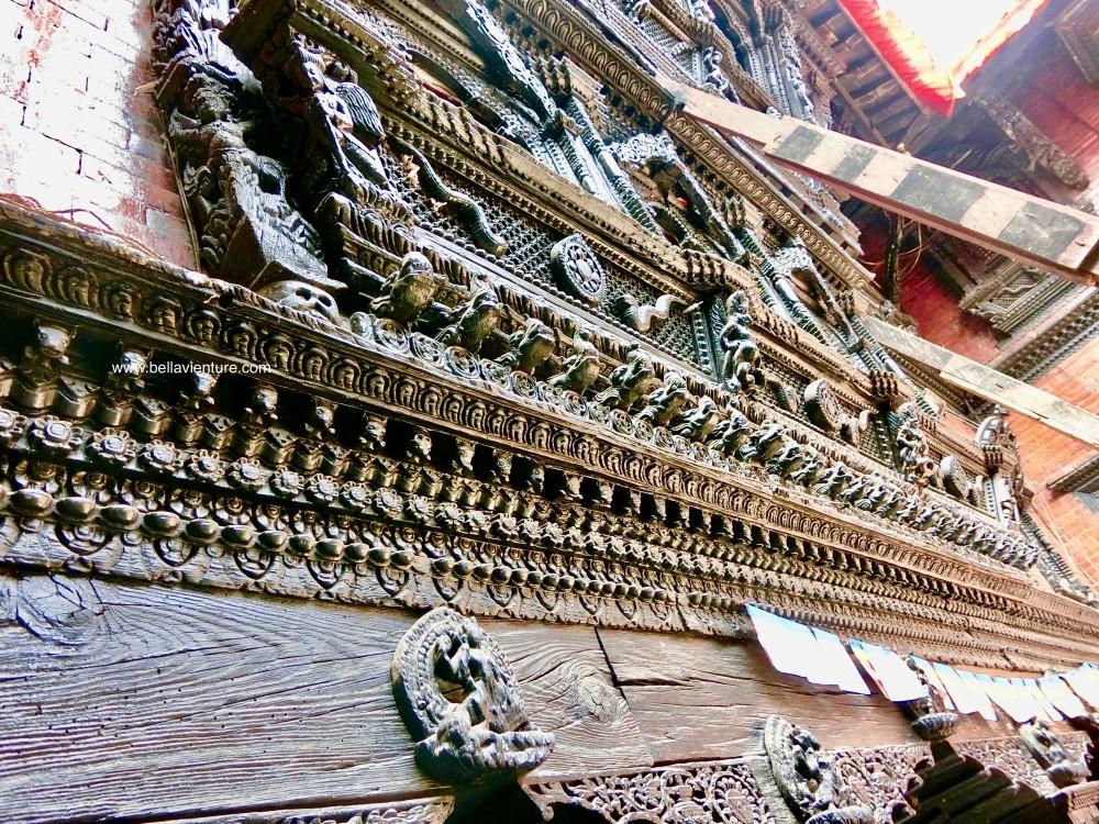 尼泊爾 加德滿都 活女神 庫瑪麗 之家
