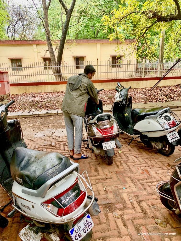 印度 India 瓦拉納西 Varanasi 恆河 Ganga 摩托車 市區導覽