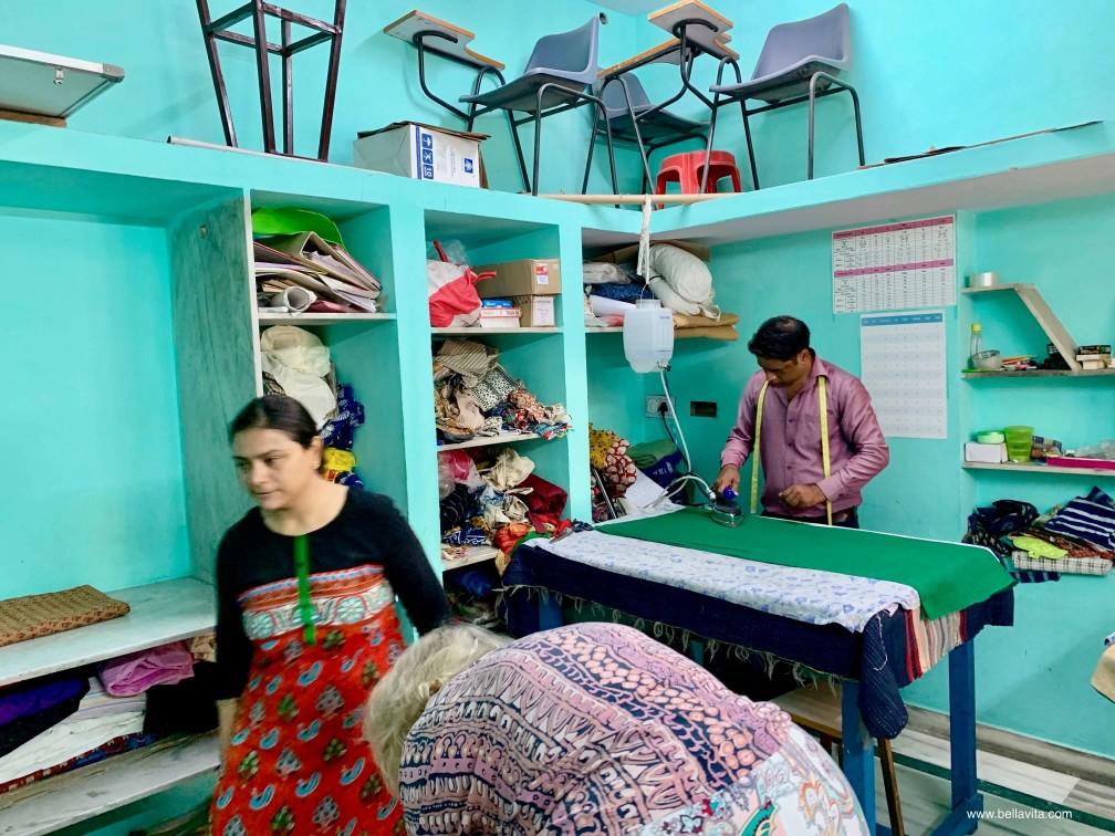 印度 india 齋浦爾 jaipur  saksham NGO 裁縫