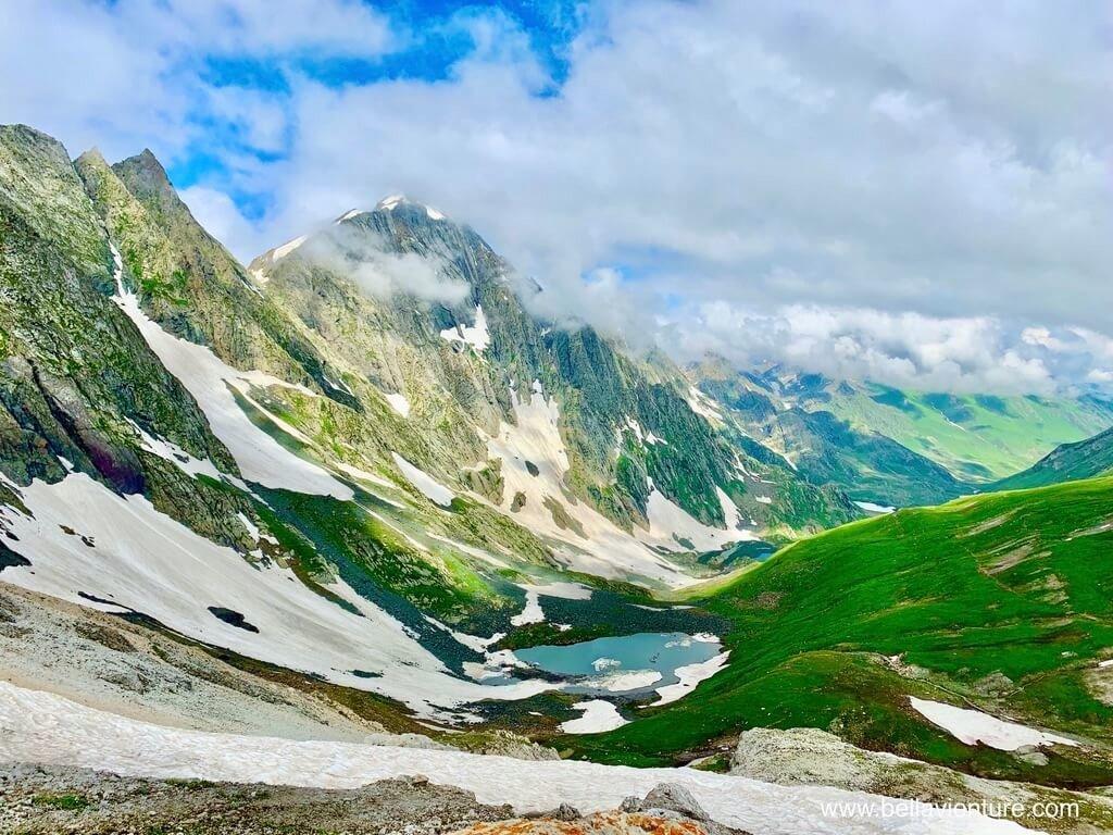 印度India 北北印 North India 喀什米爾 Kashmir 大湖健行 trekking 冰河 聖湖