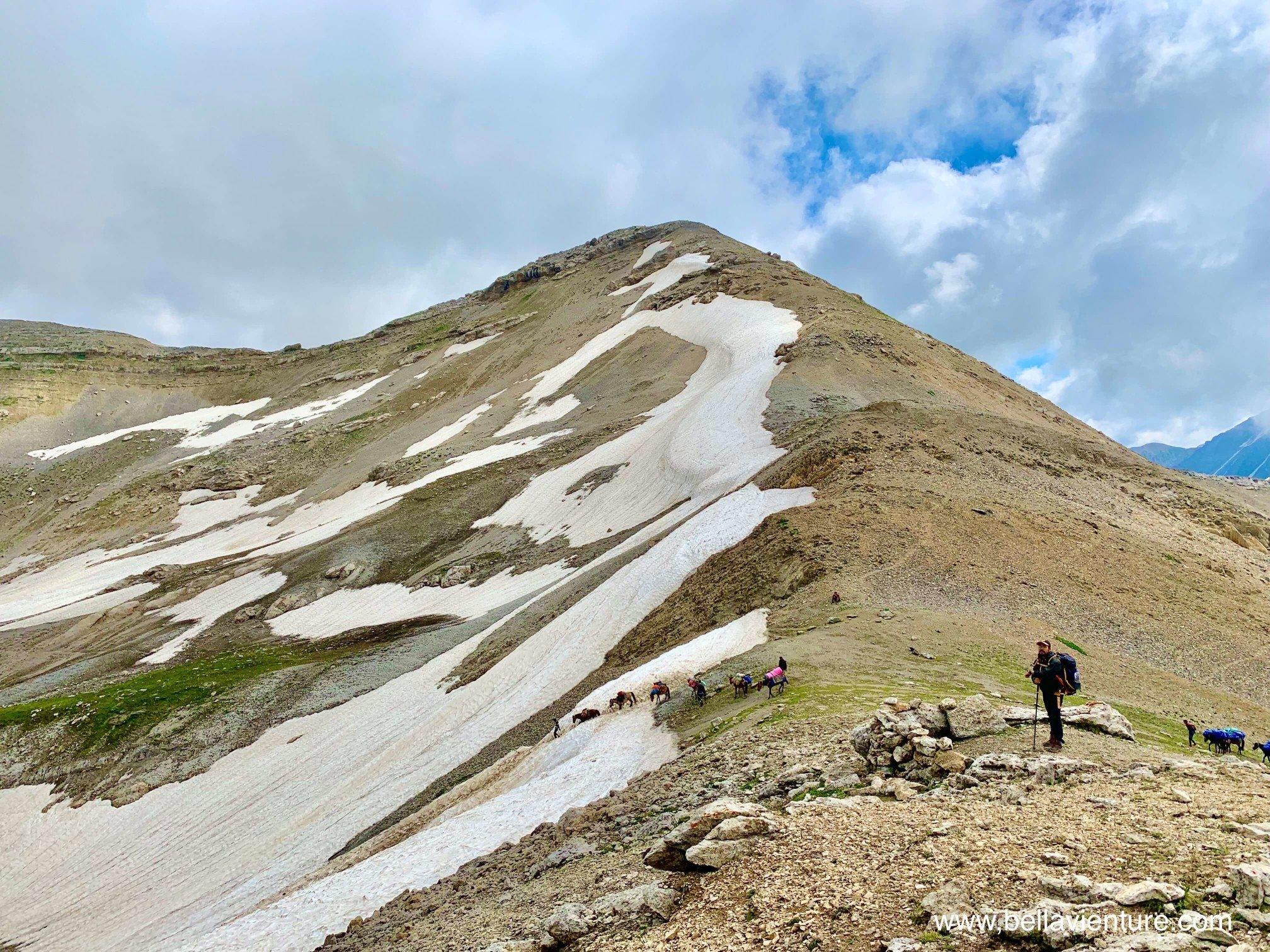 印度India 北北印 North India 喀什米爾 Kashmir 大湖健行 trekking 下冰河
