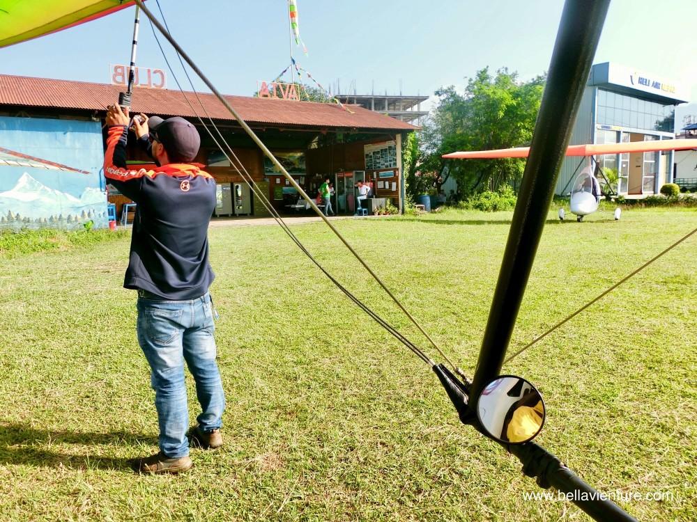 尼泊爾 波卡拉 滑翔翼 Auto plane