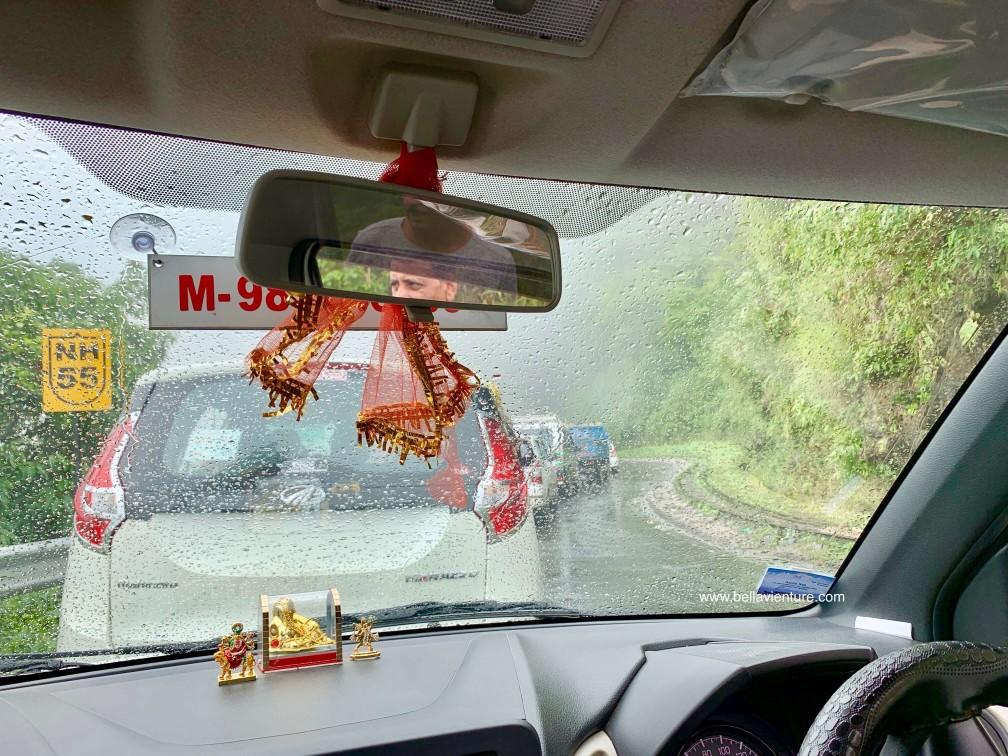 印度 大吉嶺 交通 塞車