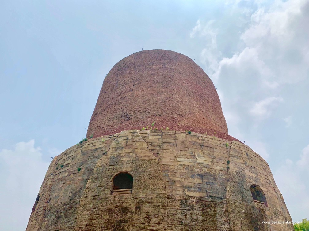 印度 india 瓦拉納西  varanasi 鹿野苑 sarnath 達美克塔 Dhamekh Stupa