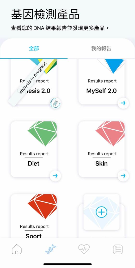 GeneLife 基因檢測app