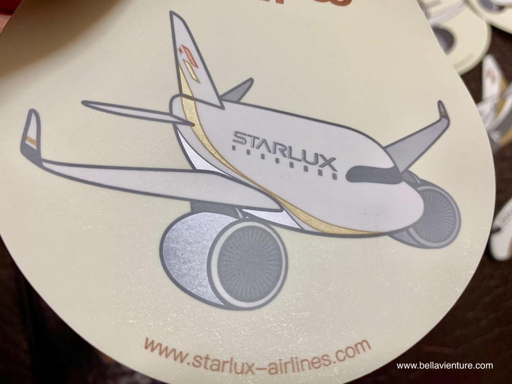 星宇航空STARLUX Airlines 星宇小舖 開箱 旅行貼紙