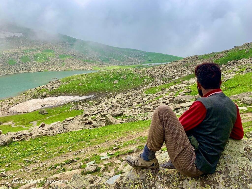印度 India 北北印  North India 喀什米爾 Kashmir 大湖健行 trekking Kashmir Great Lakes Trek 廚師小歇
