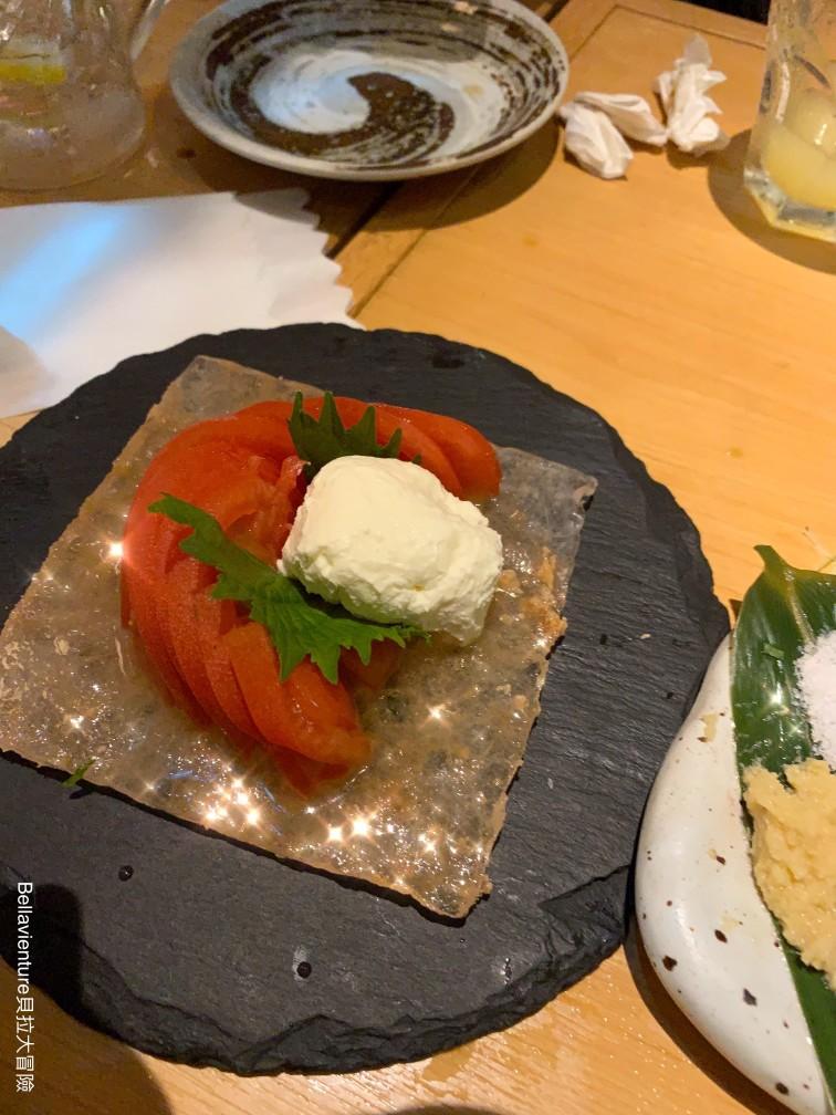 番茄生起司 本マグロ炉端劇場魚島屋