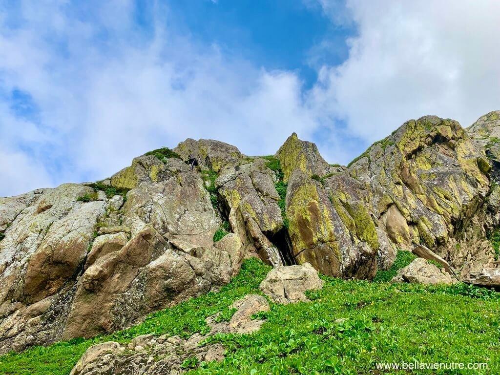 印度 India 北北印  North India 喀什米爾 Kashmir 大湖健行 trekking Kashmir Great Lakes Trek 真的攀岩走壁