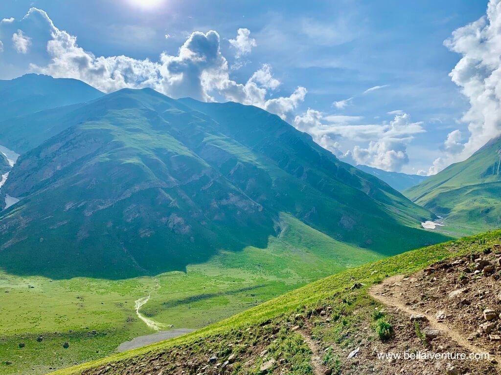 印度 India 北北印  North India 喀什米爾 Kashmir 大湖健行 trekking Kashmir Great Lakes Trek 山景