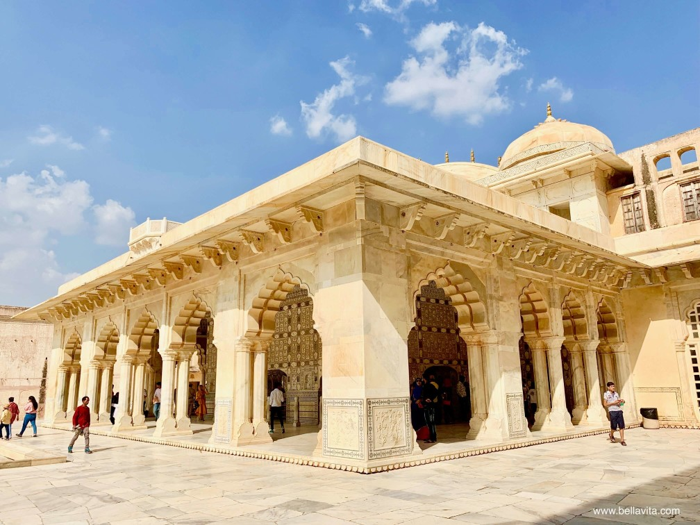 印度 india 齋浦爾 jaipur  pink city 安珀堡 Amber fort 勝利廰 鏡廳
